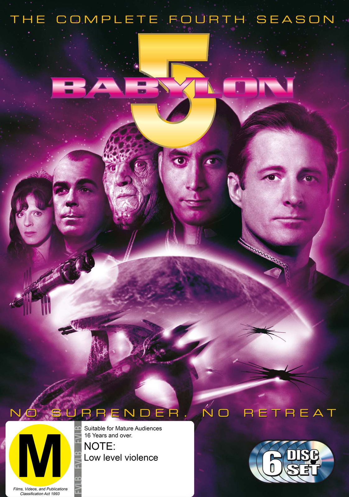 Babylon 5 - Season 4 (6 Disc Set) on DVD image