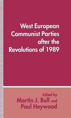 West European Communist Parties after the Revolutions of 1989 image