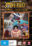 One Piece (uncut) Collection 38 (Episodes 457 - 468) on DVD