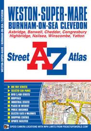 Weston Super Mare Street Atlas by Geographers A-Z Map Co Ltd
