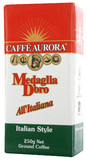 Caffe Aurora Italian Style Ground Coffee (250g)