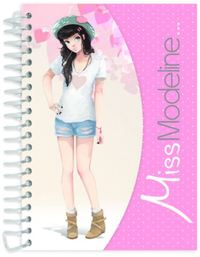 Miss Modeline A6 Notepad and Design Book - Perrine