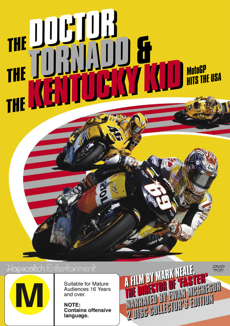 The Doctor Tornado And The Kentucky Kid on DVD image