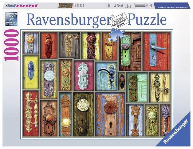 Ravensburger : Antique Doorknobs Puzzle (1000 Pcs)
