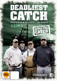 Deadliest Catch - The 4th Season (Includes After The Catch Season 4) (6 Disc Set) on DVD