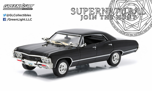 1/43: Chevrolet Impala Sedan - Supernatural - Diecast Model image
