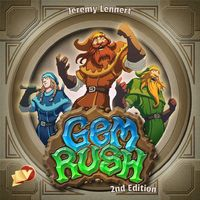 Gem Rush: 2nd Edition - Board Game