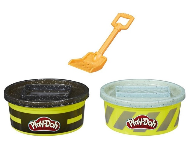 Play-Doh: Wheels 2-pack - Cement & Pavement