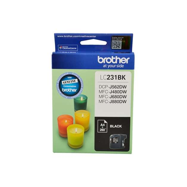 Brother LC-231BK Ink Cartridge (Black)
