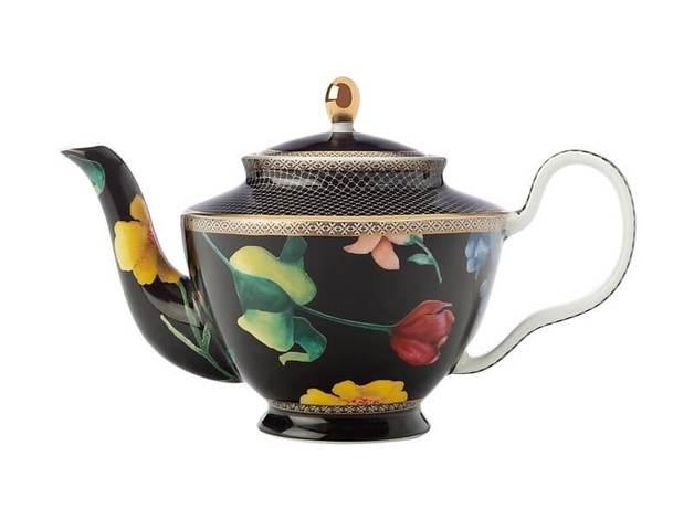 Maxwell & Williams Teas & C's Contessa Teapot with Infuser 500ML Black