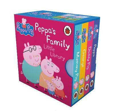 Peppa Pig: Peppa's Family Little Library by Peppa Pig
