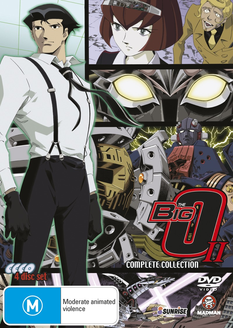 Big O - Series 2 Collection (4 Disc Set) on DVD image