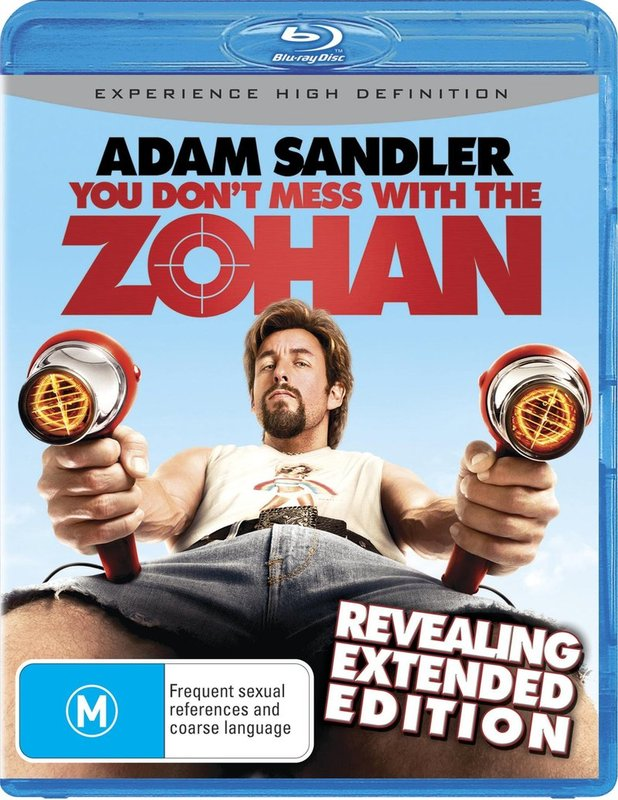 You Don't Mess With The Zohan on Blu-ray