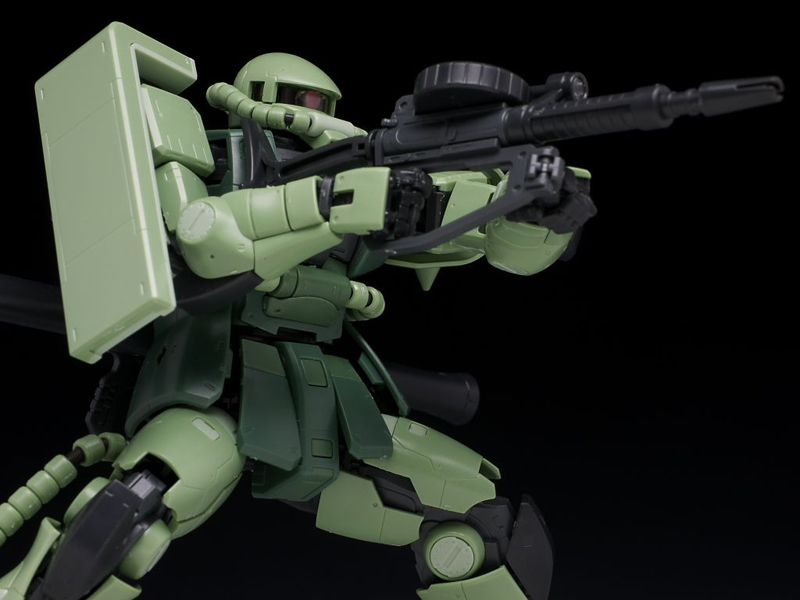Gundam RG MS-06F Zaku II 1/144 Model Kit image