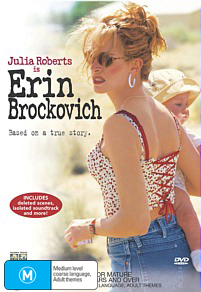 Erin Brockovich on DVD image