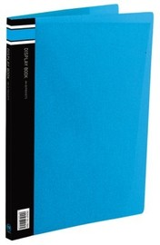 FM A4 40 Pocket Vivid Display Book - Ice Blue