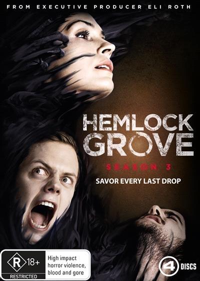 Hemlock Grove: Season 3 on DVD