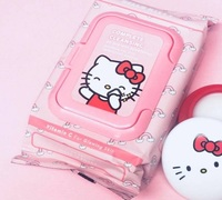 The Creme Shop: Hello Kitty Cleansing Towelettes - Vitamin C (20s)