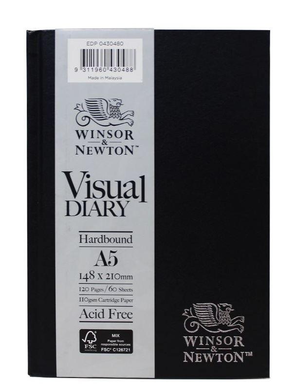 Winsor & Newton: Hardcase Visual Diary - A5 (110gsm)