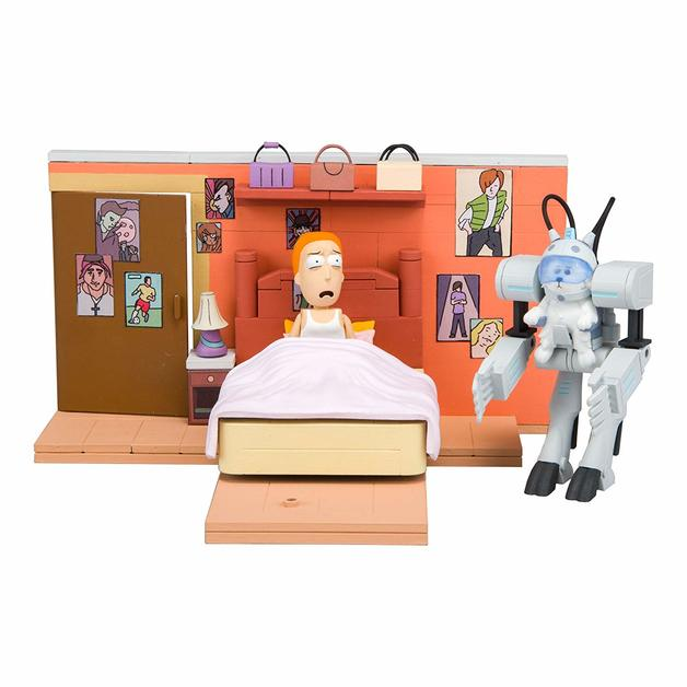 Rick and Morty: You Shall Now Call Me Snowball - Medium Construction Set