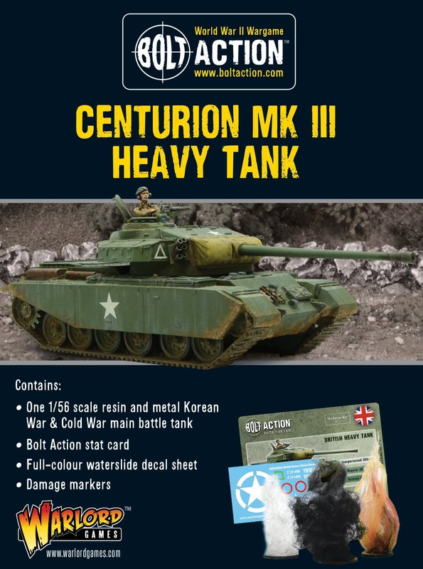 Bolt Action: Centurion Mk III