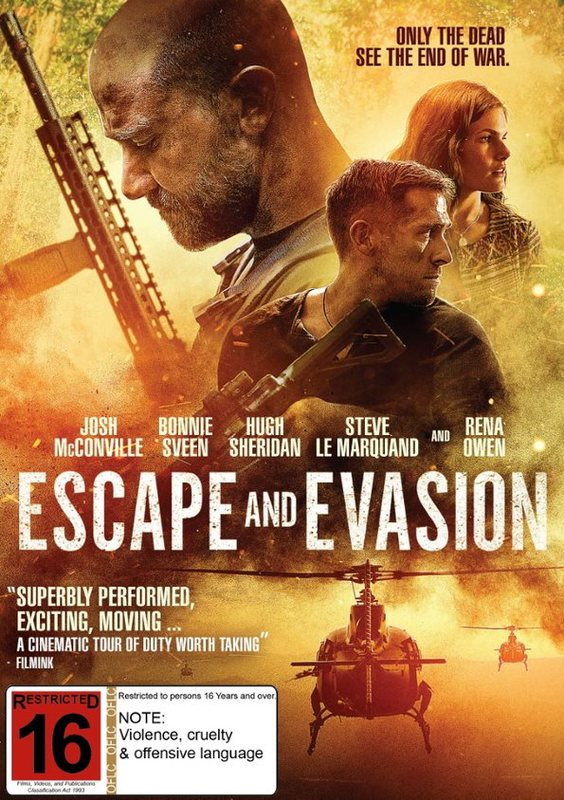Escape And Evasion on DVD