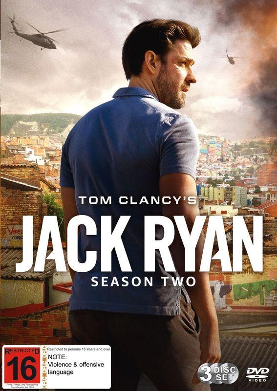 Jack Ryan - Season 2 on DVD