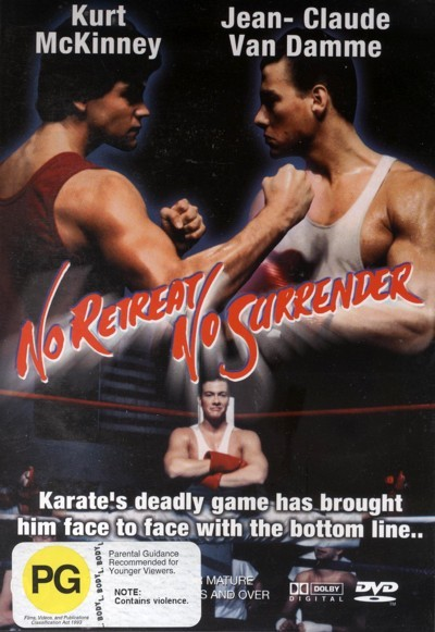 No Retreat, No Surrender on DVD