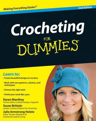 Crocheting For Dummies by Susan Brittain