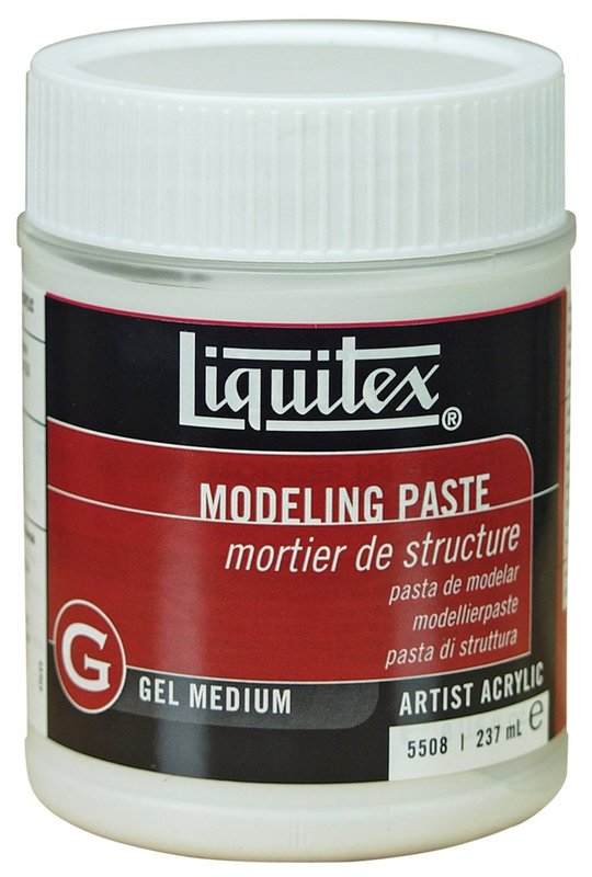 Liquitex: Modeling Paste - Gel Medium (237ml)