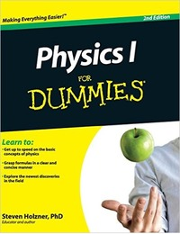Physics I for Dummies by Steven Holzner image