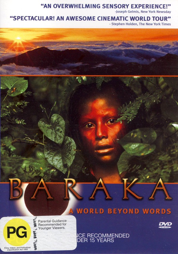 Baraka - Special Edition (2 Disc) on DVD image