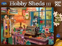 Holdson XL: 500 Piece Puzzle - Hobby Sheds S3 (The Sewing Shed) image