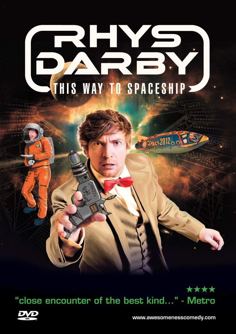 Rhys Darby - This Way To Spaceship on DVD image