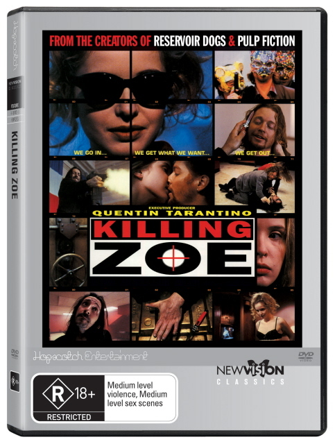 Killing Zoe on DVD