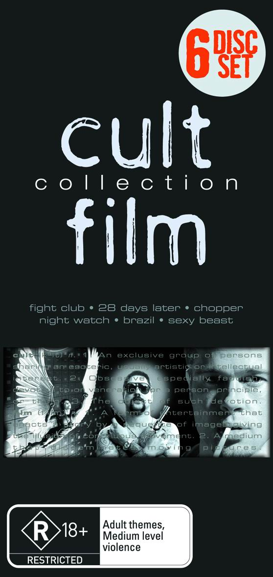 Cult Film Collection (6 Disc Box Set) on DVD image