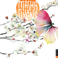 Masha d'Yans 2019 Wall Calendar by Masha D'Yans