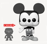 "Disney: Mickey Mouse - 10"" Super Sized Pop! Vinyl Figure"