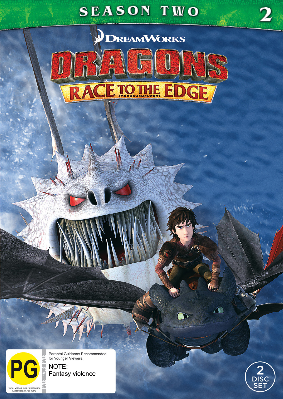 Dragons: Race to the Edge Season 2 on DVD image