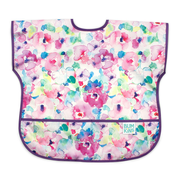 Bumkins: Waterproof Junior Bib - Watercolour