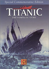 Titanic - The Complete Story on DVD