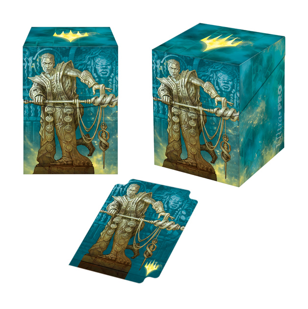 Ultra Pro: Magic Theros Beyond Death Calix, Destiny's Hand Alt Art PRO 100+ Deck Box