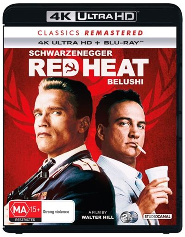 Classics Remastered: Red Heat (4K UHD + Blu-ray) on UHD Blu-ray