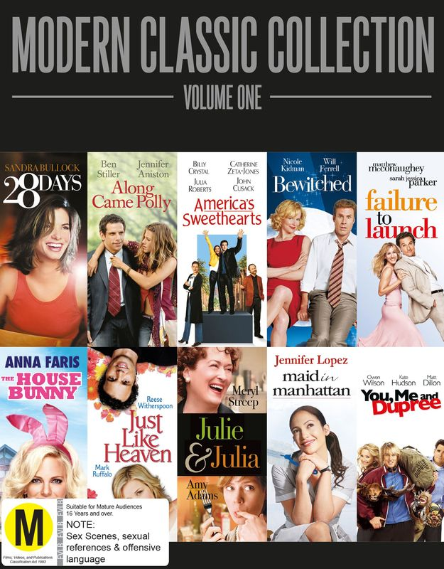 Modern Classic Collection - Vol 1 on DVD