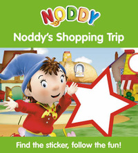 Noddy's Shopping Trip: Sticker Board Book: Bk. 2 by Enid Blyton image