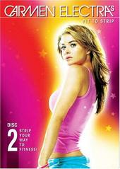 Carmen Electra Fit To Strip - Disc 2 on DVD