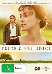 Pride And Prejudice on DVD