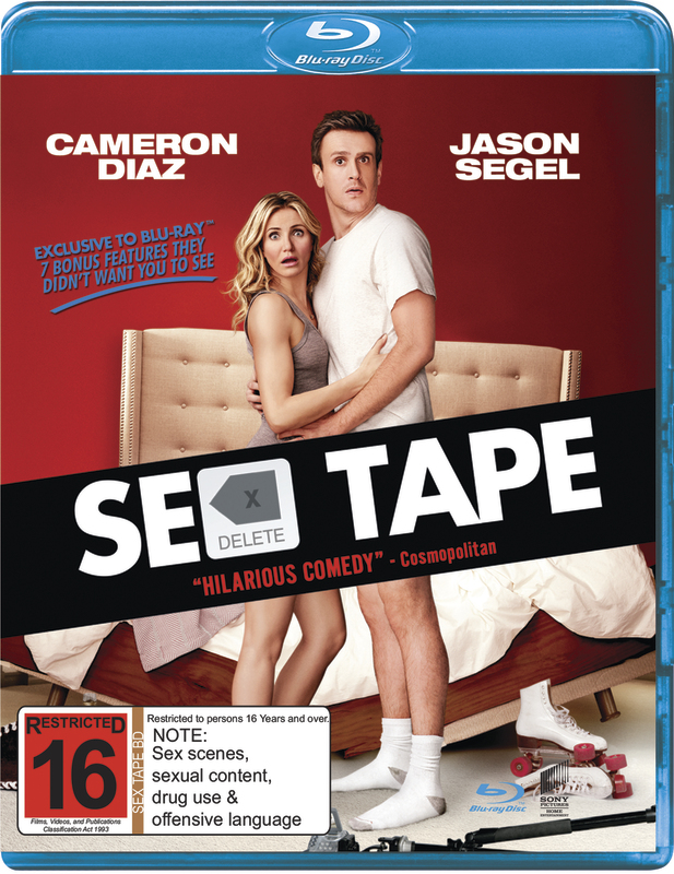 Sex Tape on Blu-ray