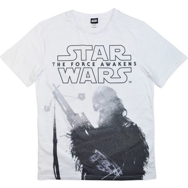 Star Wars Force Awakens Chewbacca T-Shirt (Medium)
