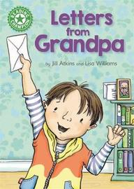 Reading Champion: Letters from Grandpa by Jill Atkins image
